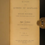 1852 Lives of Queens of England Strickland Scotland Elizabeth Anne Great Britain