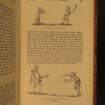 1850 Sports & Pastimes of England Strutt Illustrated Games Hunting Gambling