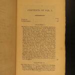 1827 TONGA Islands Pacific Voyages Tongan Language MAP 2v SET William Mariner