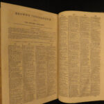 1857 Holy Bible + FAMOUS Thomas Scott Commentary Old/New Testament American 3v