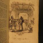 1840 Robin Hood Legendary English Folklore Ballads Poems Illustrated Little John