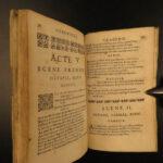 1682 1ed CLEOPATRA Jean de la Chapelle French Tragedy Play Egypt Octavian Rome