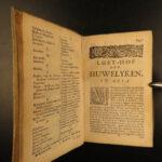 1681 DUTCH Neyn Voyages BRAZIL America INDIANS Florida Ceremony Rituals Funerals