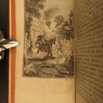 1781 Don Quixote la Mancha Cervantes Picart & Aubin Illustrated French 6v Lyon