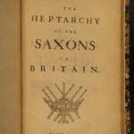 1676 1ed Sammes Antiquities Ancient Britain Saxon Druids Wicker Man Pagan Lore