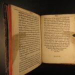 1640 1st ed King Charles I of England Declaration on Treaty of Berwick Scotland