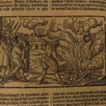 1657 History of Martyrs Martyrdom DUTCH Haemstede Utrecht Illustrated TORTURE