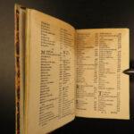 1583 Loci Communes Dadre History Lexicon Erasmus Mythology Philosophy Cicero 3v