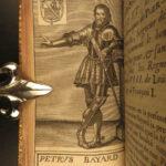 1668 Vulson's Lives of Illustrious Men Ambrose JOAN of ARC Pucelle Gaston Foix