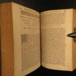 1607 Julius Caesar Scaliger on Poetics Latin Lit Aristotle Seneca Virgil Homer