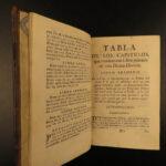 1762 Mystic City of God Maria Agreda de Jesus SPANISH Mysticism BANNED Catholic