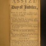 1736 The Great Assize Puritan Bible Sermons Revelation Samuel Smith Apocalypse