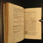 1696 Thomas Hobbes De Cive Political Philosophy On Citizen Crime Law Amsterdam