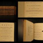 1772 William Shakespeare PLAYS Theatre Romeo & Juliet Hamlet Theobald 12v