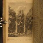 1791 1ed Cherokee Creek Indians Daniel Boone Kentucky Ben Franklin John Wesley