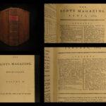 1789 American Colonies Benjamin Franklin Wilberforce Slave Trade Washington