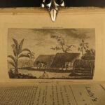 1785 Lady's Magazine British Fashion Cap Cook Voyages Tonga Zambeccari Balloon