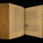 1532 Robert Estienne Latin BIBLE Paris Biblia Breves Apocrypha Hebrew Index RARE