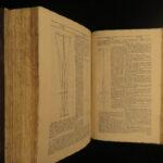 1704 Lexicon Technicum John Harris 1st English SCIENCES Isaac Newton Optics