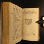 1638 Jesuit Bellarmine of Galileo Trials Value of Tears Catholic Lament Gemitu