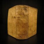 1648 Francis Bacon Sylva Sylvarum Atlantis Natural History Elzevier Heinsius