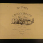 1859 PUNCH Pictures of Life & Character John Leech Illustrations Magazine 2v