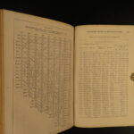 1862 1ed SLAVE Census DATA Indians Confederacy Civil War Steel Industry