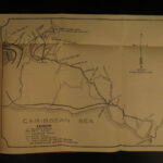 1899 CUBA Memories of Campaign of Santiago Spanish-American War Illustrated MAP