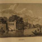 1813 INDIA 1st ed ATLAS Annesley Voyages Ceylon Egypt Ethiopia Maps Arabia Ships