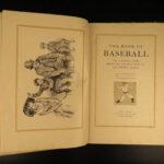 1911 1ed Book of BASEBALL Ty Cobb Mathewson Honus Wagner Tris Speaker Portraits