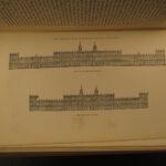 1875 LONDON Illustrated History Castles Landscape Scenery 9v SET Charles Knight