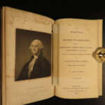 1834 Writings of George Washington Americana Sparks Letters Illustrated Law SET
