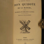 1855 SPANISH ed Don Quixote la Mancha Cervantes Quijote FAMOUS Adventure