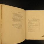 1878 SIGNED François Villon Poems Criminal Middle Ages French English Ballads