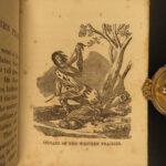 1852 1st ed Costumes of America Native American INDIAS Comanche Eskimos Mexicans