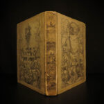 1842 FABLES Illustrated by J.J. Grandville Famous Fontaine Aesop CLASSIC German