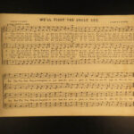 1864 1ed Trumpet of Freedom American Patriotic Hymns Battle Hymn Star Spangled Banner