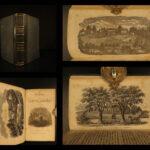 1850 Life of David Brainerd Native American INDIAN Missionary Puritan Edwards