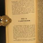 1849 Popular Occult Superstitions GHOSTS Vampirism Hypnotism MESMERISM Mayo