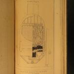 1857 1ed New York RAILROAD Commission Drawings Bridges TRAINS Coal Locomotives