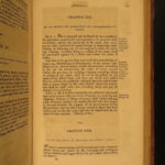 1814 1st LAWS of Massachusetts Bay WITCHCRAFT Colonial America Slavery Indians