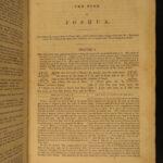1837 1ed Holy Bible w/ Adam Clarke Commentary Methodist anti-Catholic MAP 6v
