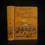 1897 1st ed Alaska & Klondike Gold Fields Canada INDIANS Cannibalism Slavery MAP