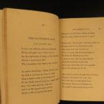 1851 EXQUISITE Wadsworth Longfellow Song of Hiawatha Golden Legend Miles Standish
