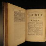 1677 ENGLISH LAW Edward Coke Reports Judicial Court Cases England HUGE FOLIO