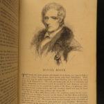 1853 Illustrated American Biography Indians Washington Adams Boone Hamilton