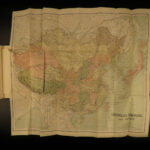 1898 MAP of CHINA Boulger Mongol WARS Ming Tang Han Sung Chinese Great Wall