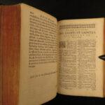 1675 Martyrology Romanum Pope Gregory XIII Catholic Breviary Bible Calendar