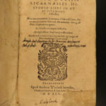 1595 Herodotus Histories Latin Henri Estienne Caesar ROME Egypt Persia Xerxes