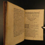 1581 Boethius Consolation of Philosophy Medieval Poliziano + Poelmann Commentary